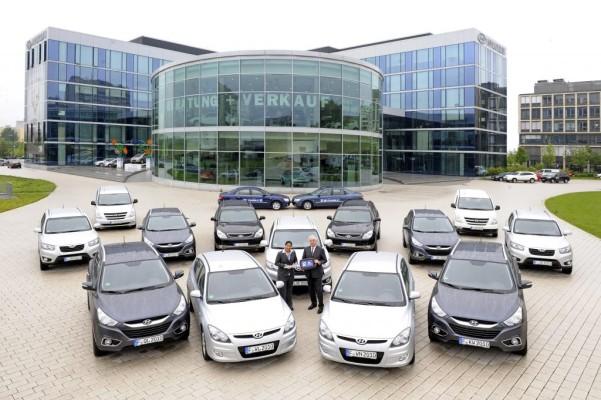 Hyundai stellt 154 Fahrzeuge für U-20-Frauen-WM