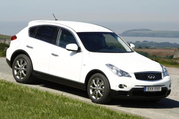 Infiniti EX mit Dieselmotor ab 47 650 Euro erhältlich