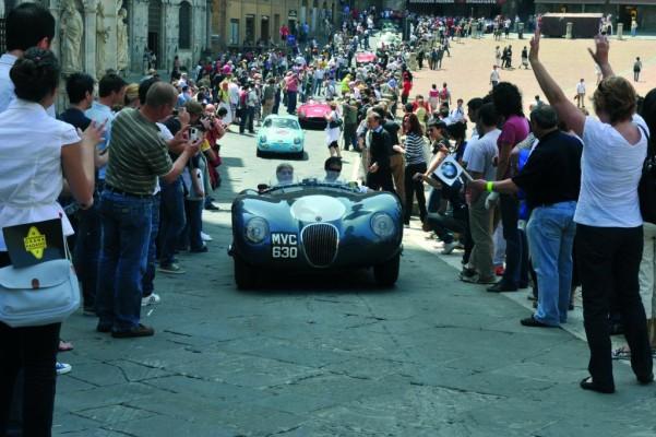 Jaguar schickt sechs Werkswagen zur Mille Miglia