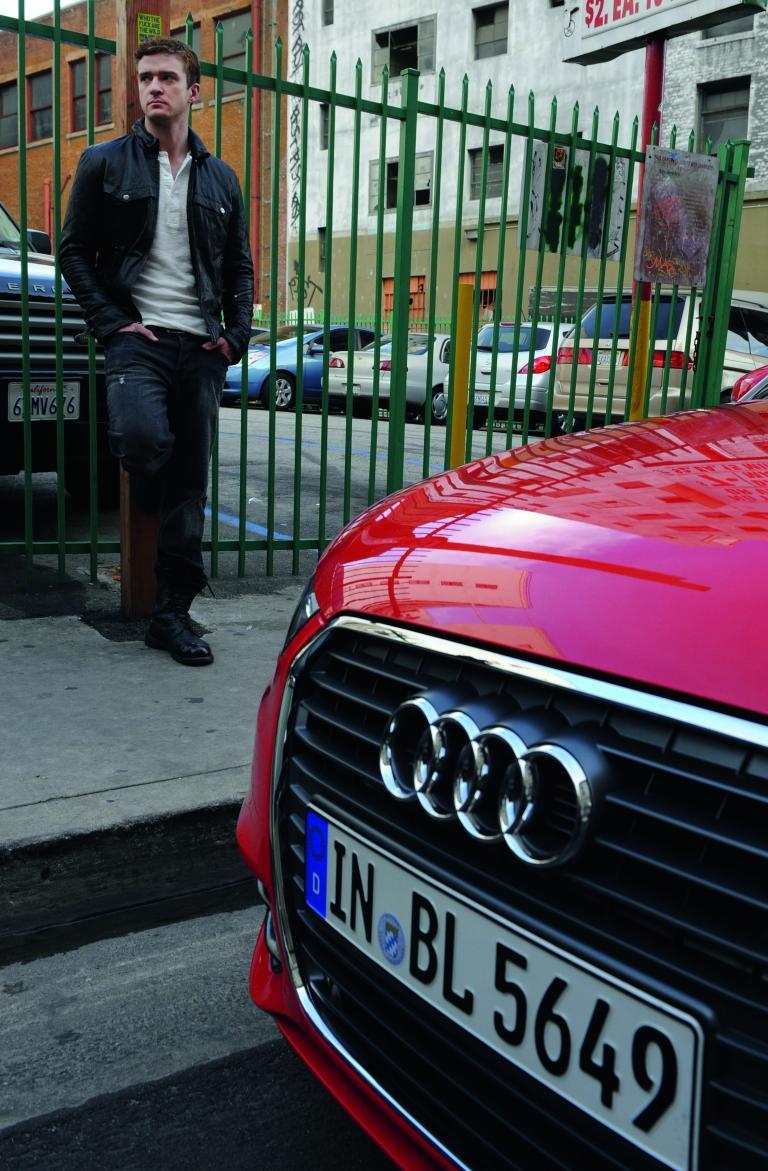 Justin Timberlake und der Audi A 1.
