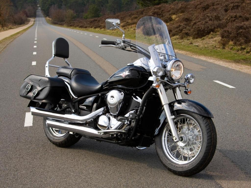 Kawasaki VN900 und VN1700 als Aktionsmodelle