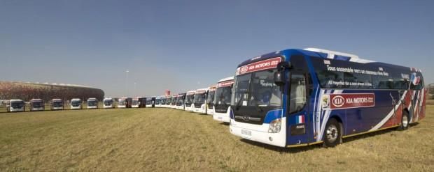 Kia Motors stellt Fahrzeugflotte für Fußball-WM