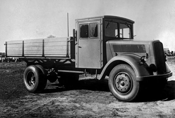 L 701: Der Opel Blitz von Daimler-Benz