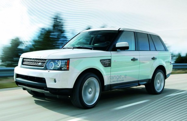 Land Rover startet Diesel-Hybrid-Antrieb-Tests