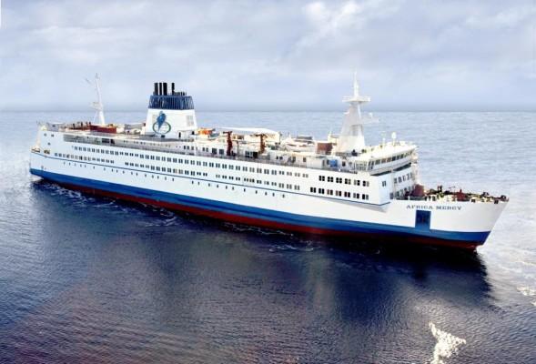 MAN Motoren erzeugen Strom für das weltgrößte zivile Krankenhausschiff