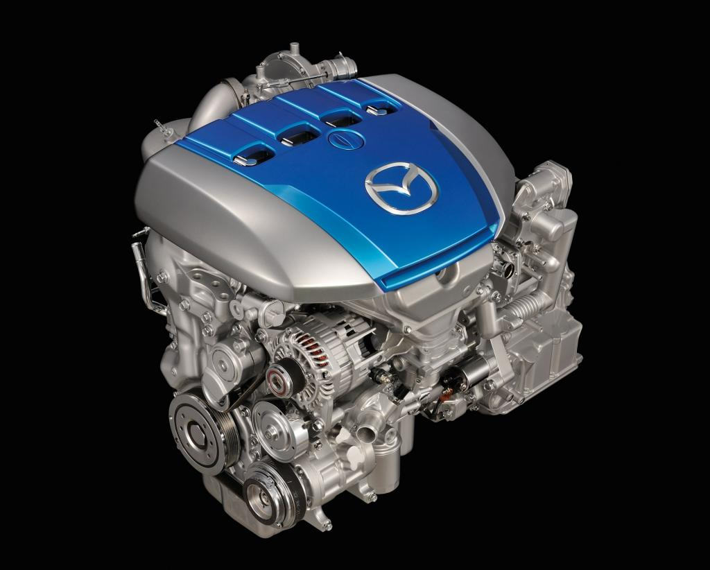 Mazda Sky-Dieselmotor.