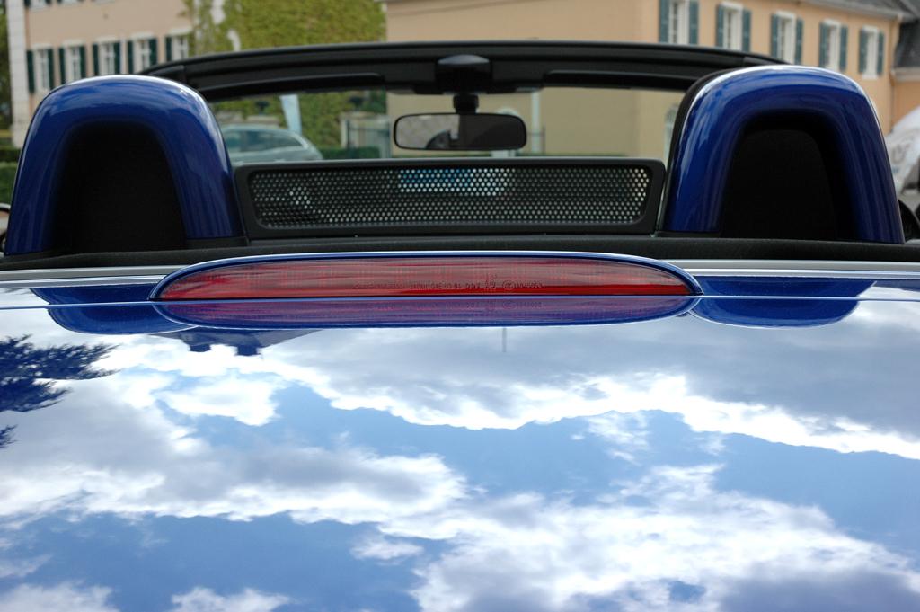 Mazda aktuell: Blick übers Heck des MX-5-Sondermodells.