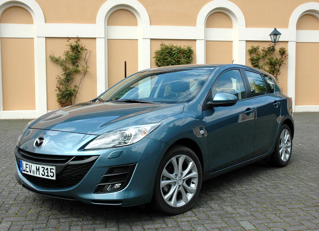 Mazda aktuell: Die 3er-Active/Active-Plus-Sondermodelle gibt es nur als Fünftürer.