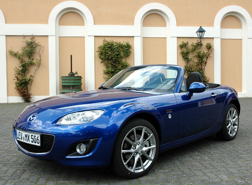 Mazda aktuell: MX-5-Jubiläumssondermodell