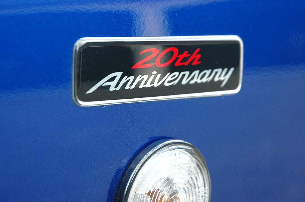 Mazda aktuell: MX-5-Sondermodell-Schriftzug über dem Blinker an der Seite.