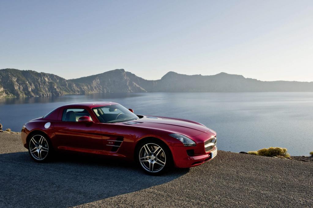 Mercedes-Benz SLS ist schönstes Auto Deutschlands