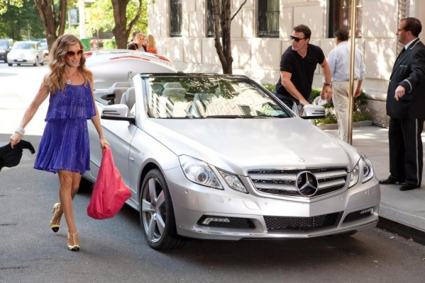 Mercedes-Benz und Maybach spielen mit bei ''Sex and the City''