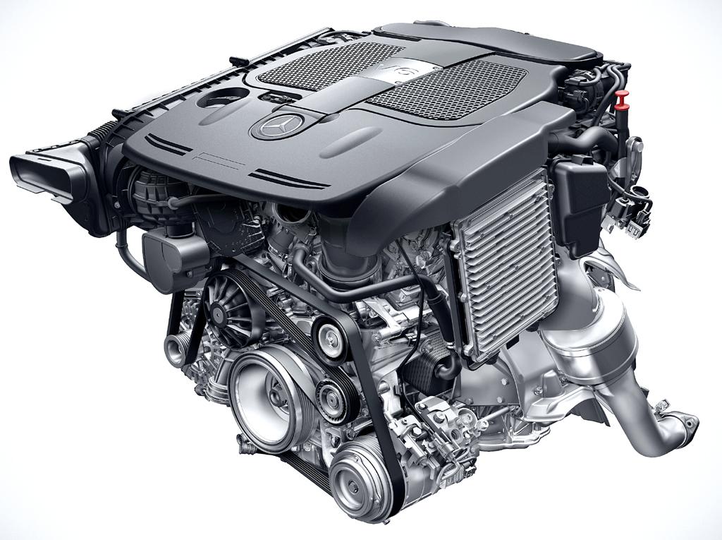 Mercedes Motoren: So sehen die neuen V6-Triebwerke aus.