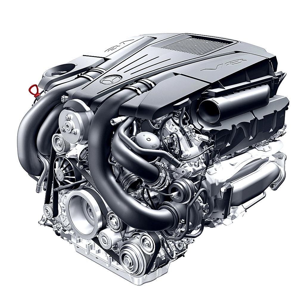 Mercedes Motoren: So sehen die neuen V8-Triebwerke aus.