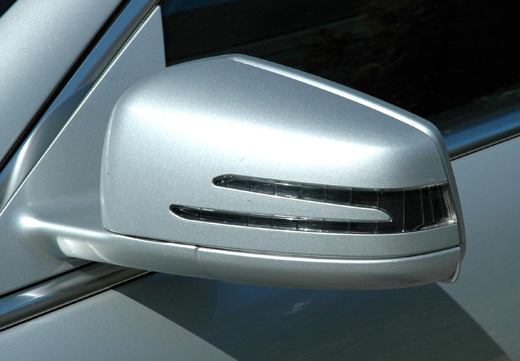 Mercedes S400 Hybrid: Außenspiegel.