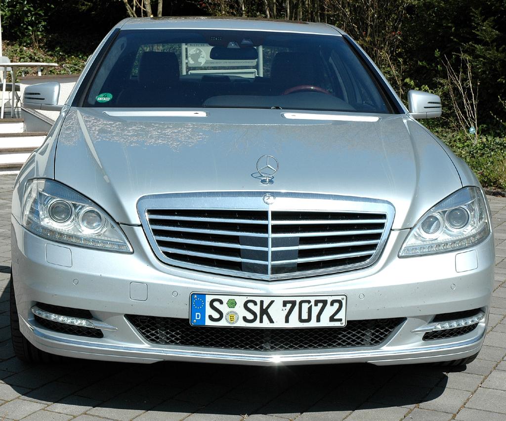 Mercedes S400 Hybrid: Frontansicht.