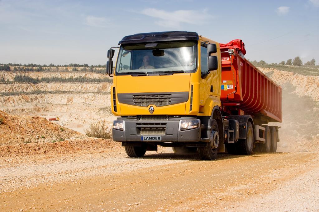 Mit Optitrack bietet Renault Trucks eine gewichtsparende Alternative zum herkömmlichen Allradantrieb.