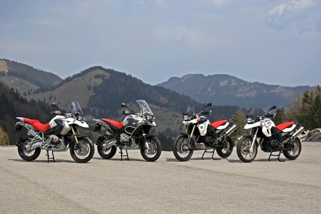 Motorrad-Jubiläum: Sondermodell-Quartett der BMW GS