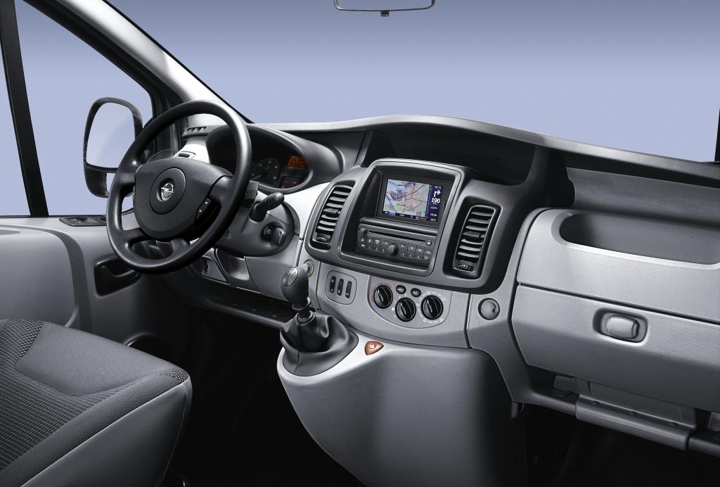 Opel verbessert Motoren und Komfort des Vivaro