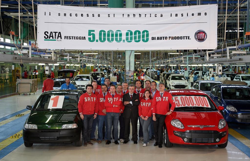 Produktionsjubiläum bei Fiat in Melfi
