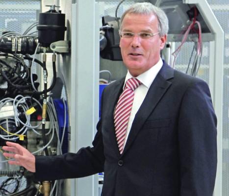 Salzgitter-Werkleiter Rudolf Krebs leitet künftig die Elektro-Traktion bei VW.