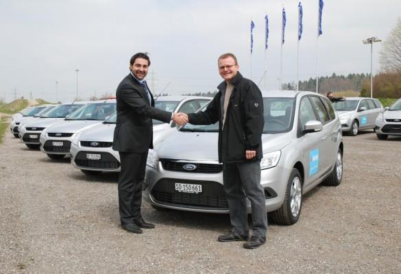 Schweizer Valora AG bestellt 53 Ford Focus und Kuga