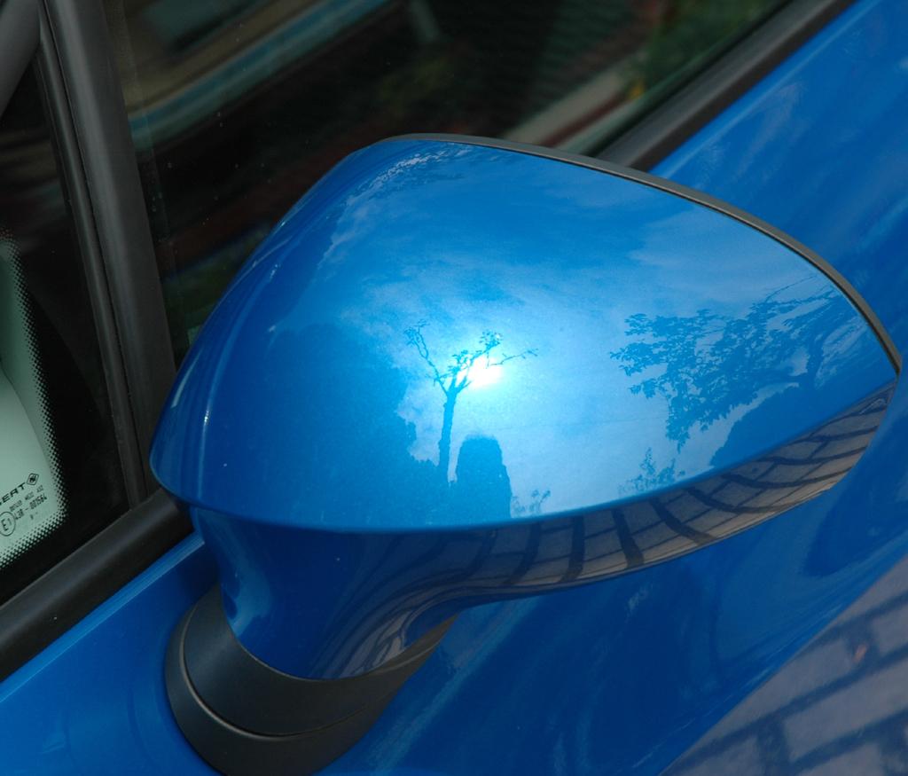 Seat Ibiza ST: Außenspiegel.