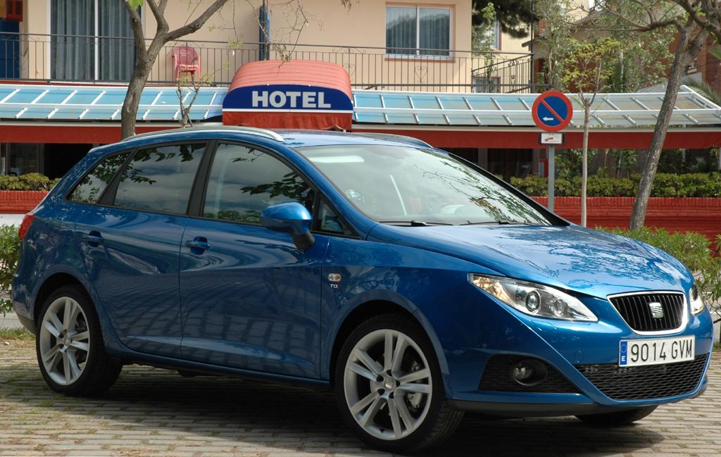 Seats neuer Ibiza-Kombi ST fährt mit größerem Nutzwert vor.