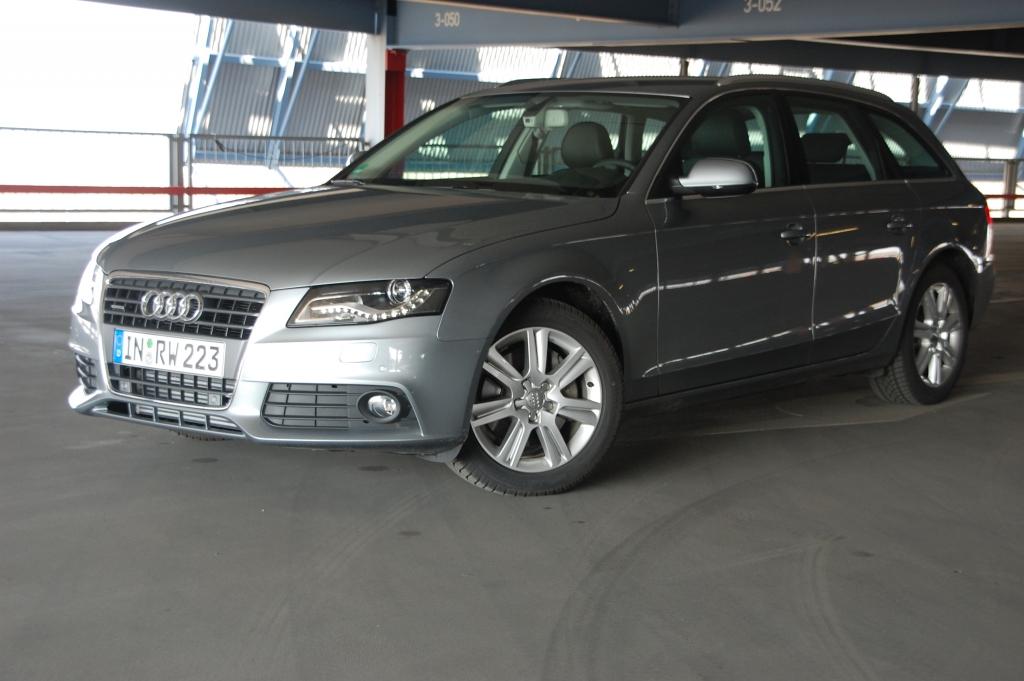 Sportlich durch den Alltag – Der Audi A4 2.0T Avant im Test