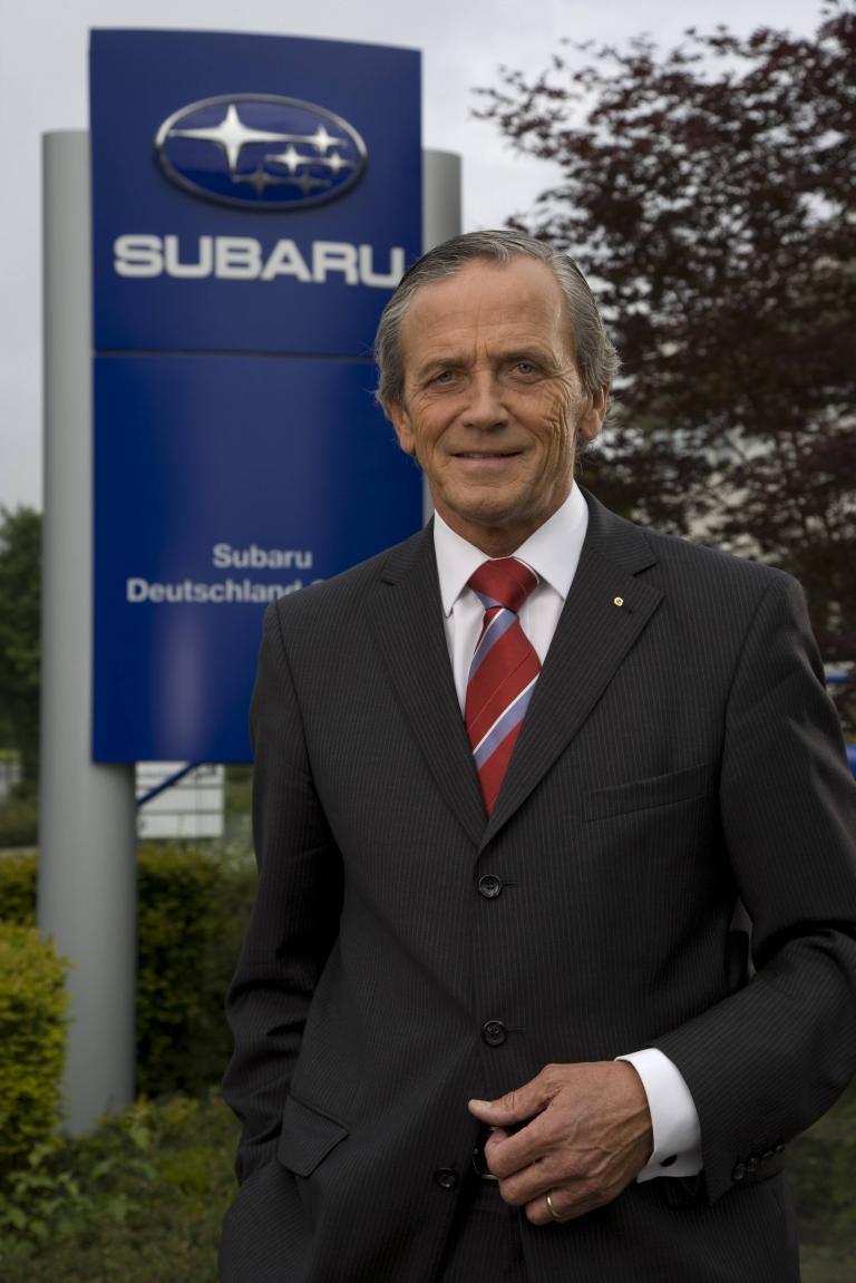 Subaru-Chef Becker distanziert sich von Kandidatur seiner Öffentlichkeitschefin Jutta Sein