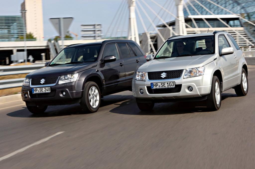 Suzuki wertet Grand Vitara auf