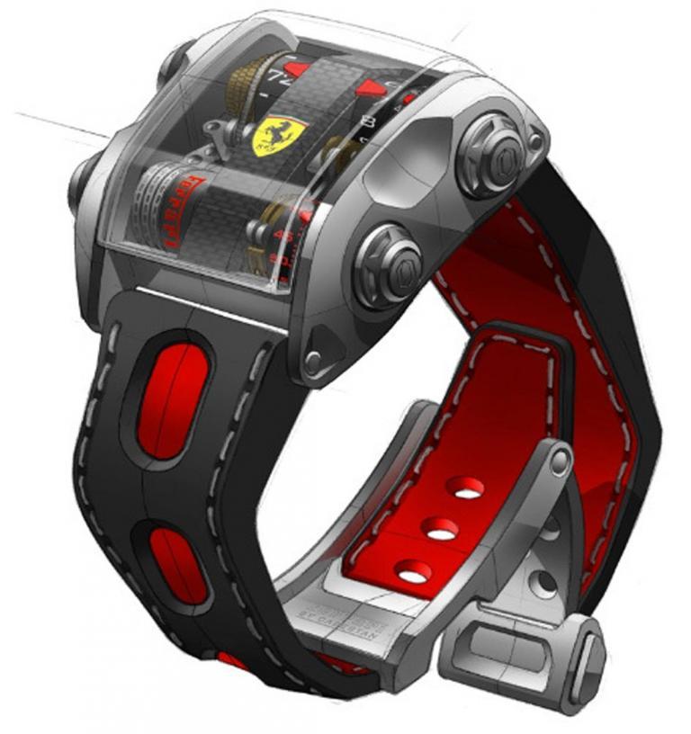 Teurer als ein Sportwagen: Ferrari-Uhr aus der Schweiz