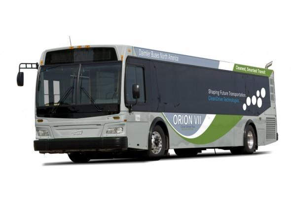 US-Bus Orion VII fährt mit Diesel, Hybridantrieb oder Erdgas