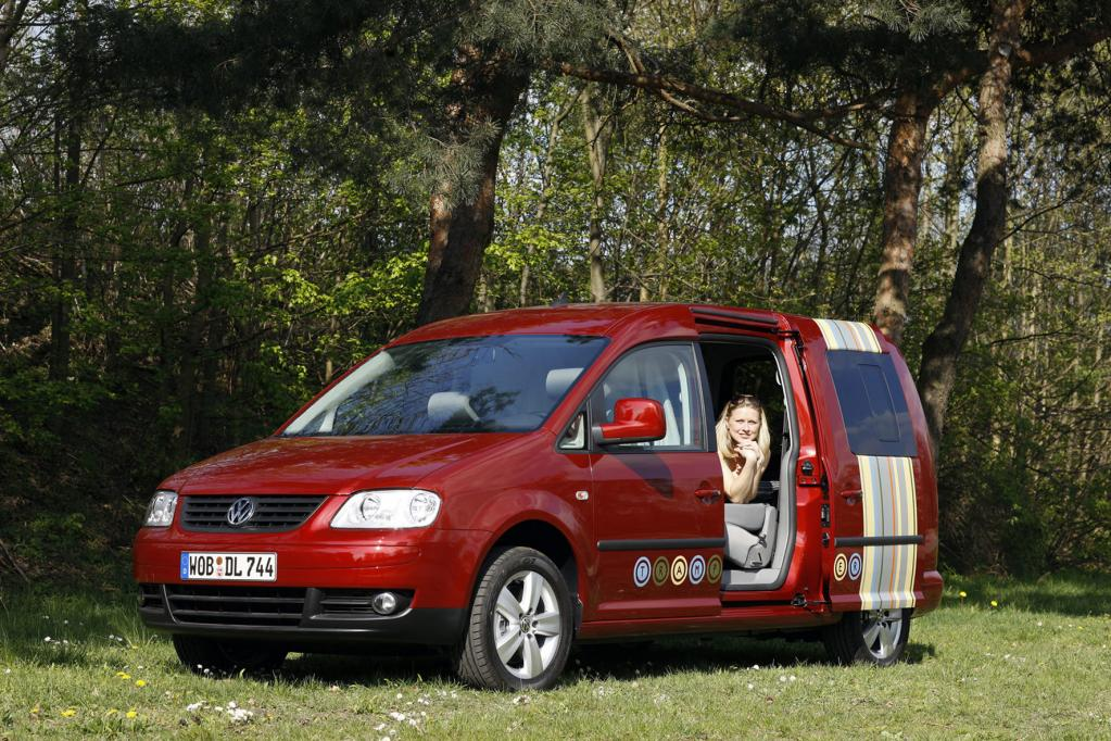 VW Caddy Life Tramper