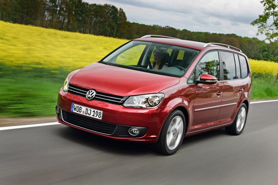 VW Touran: Feintuning für das Familienauto