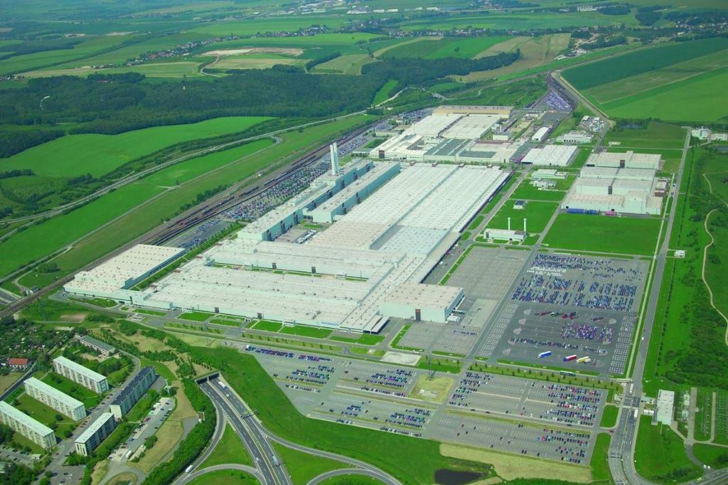 Volkswagen Sachsen, Fahrzeugwerk Zwickau. Foto