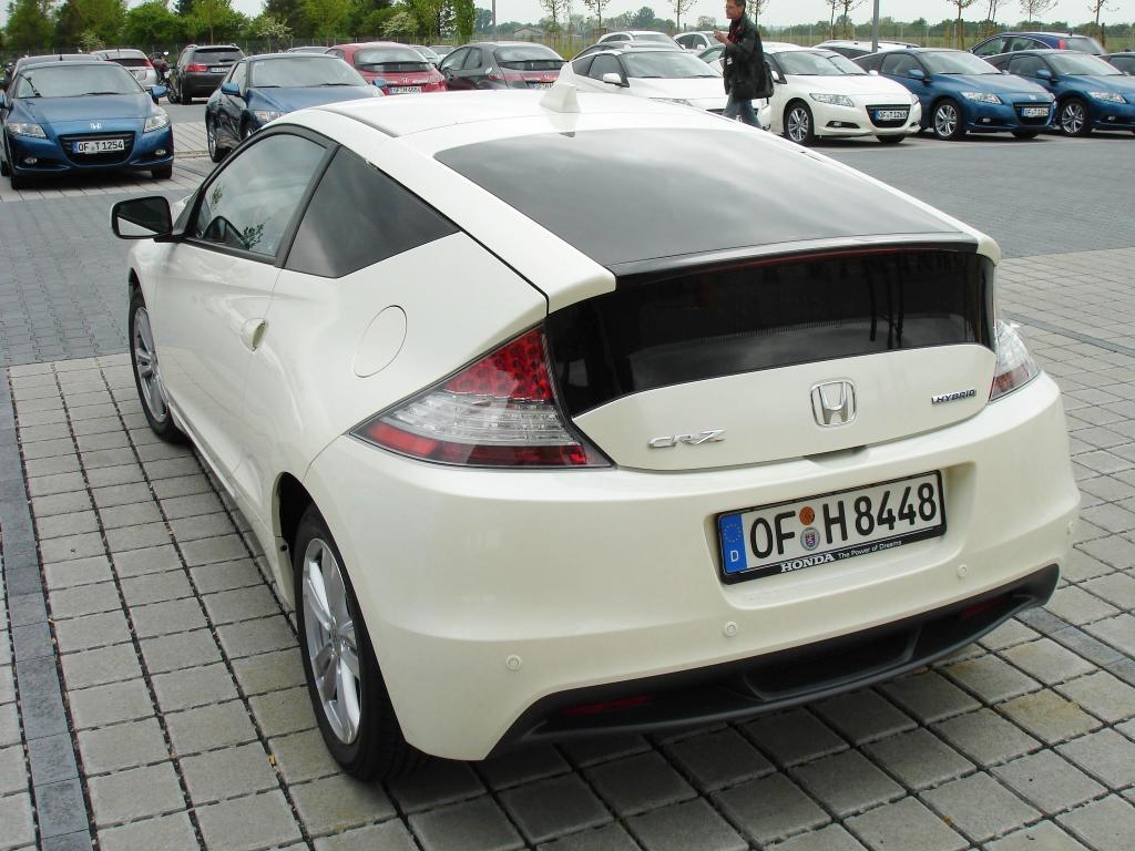 Vorstellung Honda CR-Z: Honda setzt auf Hybrid plus Emotion