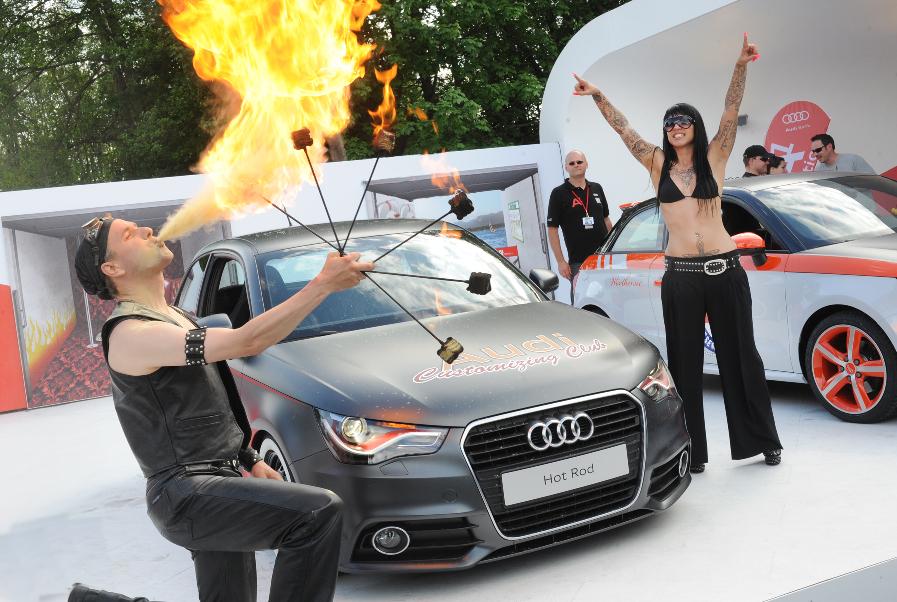 Wörthersee 2010: Audi A1 – Star mit vielen Facetten