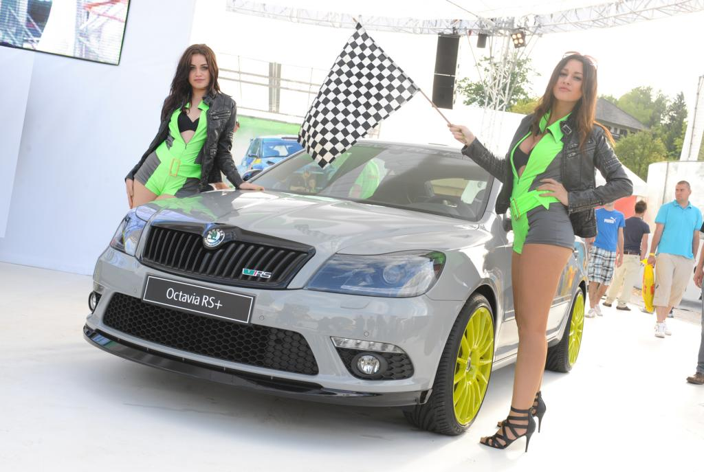 Wörthersee 2010: Dem ''Ruf des Sees'' folgt Skoda mit seinem Octavia RS+
