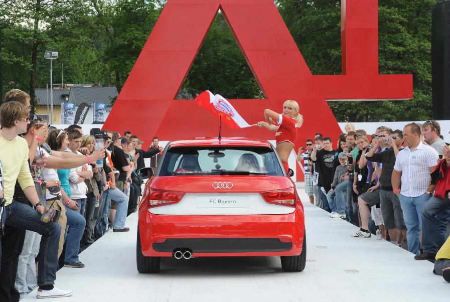 Wörthersee 2010: FC Bayern als Sonderedition des A1