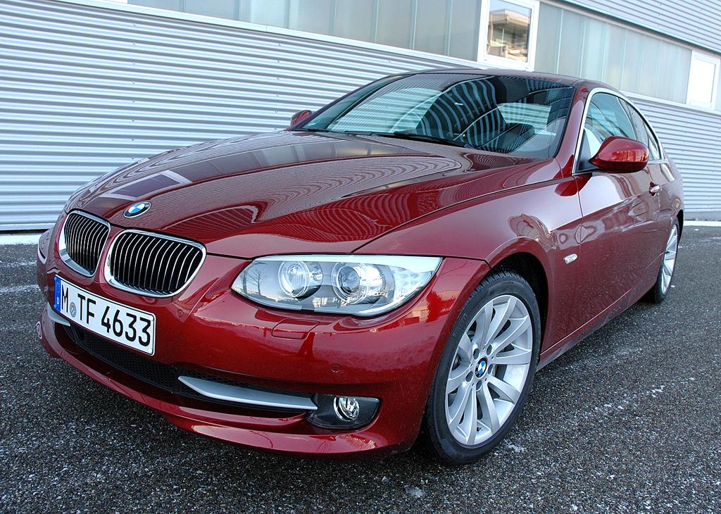Wenn Frauen (Männer-)Autos entwerfen: Aufgefrischtes BMW-3er-Coupé.