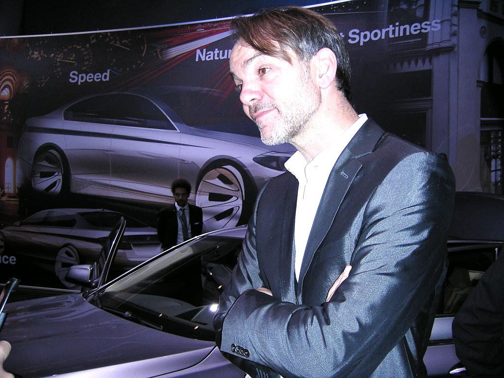 Wenn Frauen (Männer-)Autos entwerfen: BMW-Chefdesigner Adrian van Hooydonk.