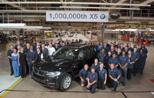 BMW X5 erreicht Millionenmarke