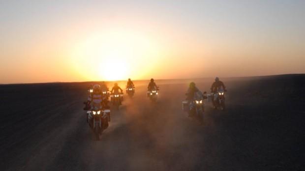 ''Ride-for-Life''-Tour in Marrakesch erfolgreich beendet