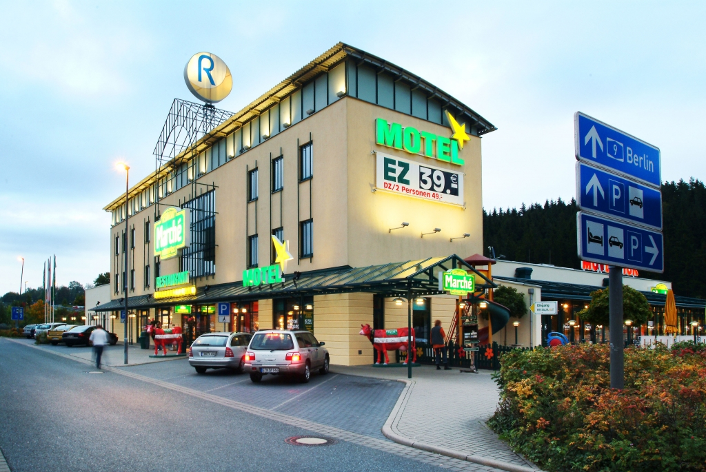 2. Platz: Hirschberg Ost, A9 Nürnberg-Leipzig