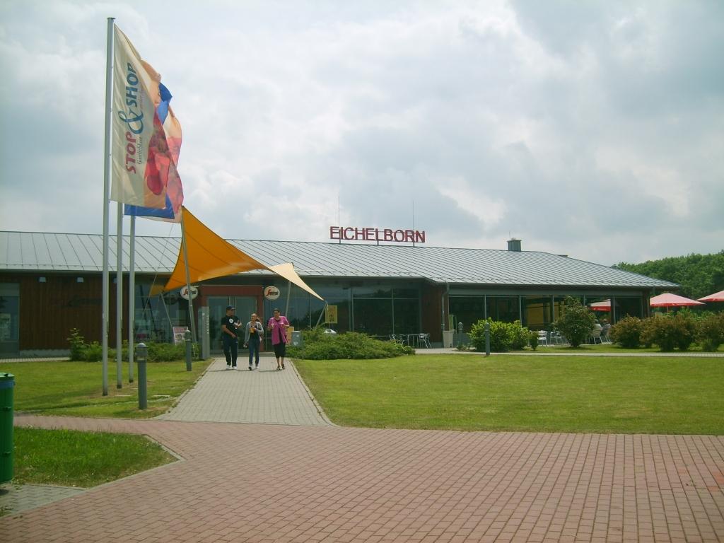 9. Platz: Eichelborn Süd, A4 Erfurt-Gera, 1,74
