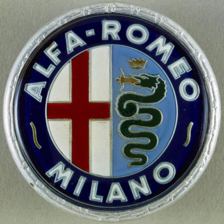 Das Alfa-Logo Mit Der Drachenschlange