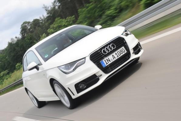 Audi A1 ab Werk mit Goodyear EfficientGrip ''besohlt''