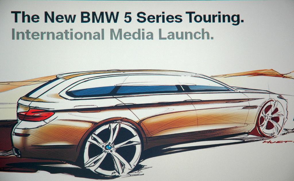 BMW 5er Touring: Auch so hätte er unter Umständen aussehen können.