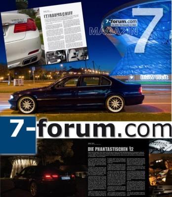 BMW 7er-Forum bringt Magazin heraus
